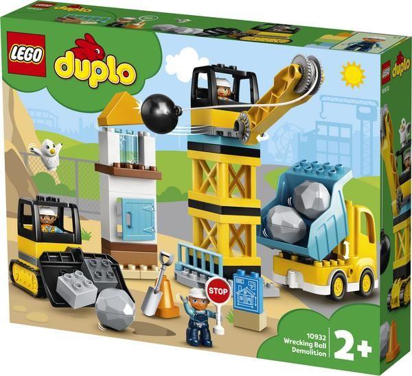 LEGO DUPLO 10932 Baustelle mit Abrissbirne   Smyths Toys