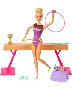 Barbie Turn-Spielset mit Puppe
