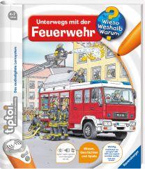 Ravensburger tiptoi Unterwegs mit der Feuerwehr