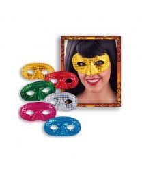 """Augenmaske """"Domino"""" mit Pailletten"""