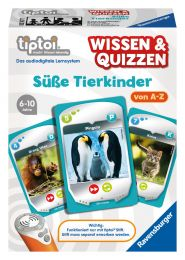 Ravensburger tiptoi Wissen & Quizzen: Süße Tierkinder