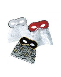 Augenmaske (beflockt)