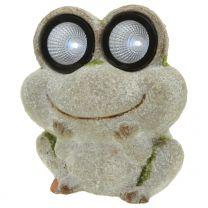 Dekofigur-Solar-Frosch