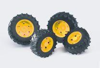 Bruder Zwillingsbereifung für Traktor-Serie 03000