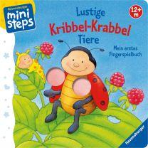 Ravensburger ministeps Lustige Kribbel-Krabbel Tiere