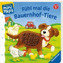 Ravensburger ministeps Fühl' mal die Bauernhof-Tiere