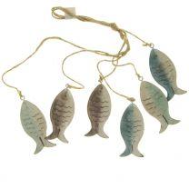 Fischkette Metall