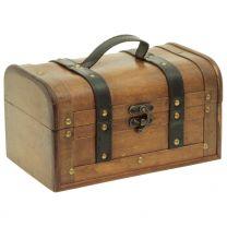 Holzbox rustikal 27x17x15cm