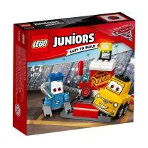 LEGO Juniors Cars Guido und Luigi's Pit Stopp