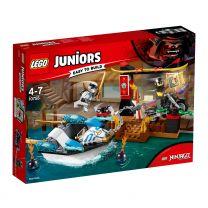 LEGO Juniors Ninjago Zanes Verfolgungsjagd mit dem Ninjaboot