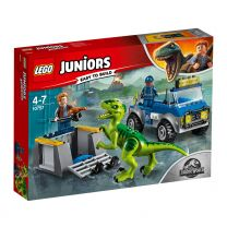 LEGO Juniors Jurassic World Raptoren Rettungstransporter