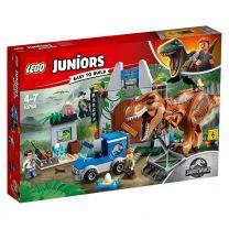 LEGO Juniors Jurassic World Ausbruch des T-Rex