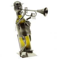 Wein-Flaschenhalter Trompeter