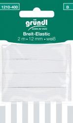 Breit-Elastic weiß (2mx12mm)