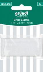 Breit-Elastic weiß (1mx28mm)