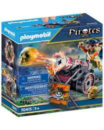Playmobil Pirat mit Kanone