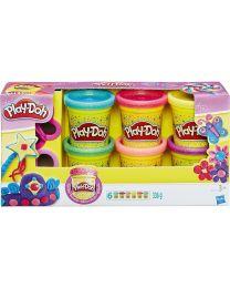 Hasbro Play-Doh Glitzerknete-Set