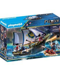 Playmobil Piraten Rotrocksegler