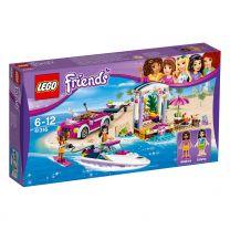 LEGO Friends Andrea's Rennboot-Transporter