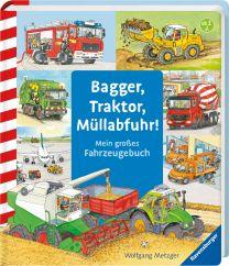Ravensburger Bagger, Traktor, Müllabfuhr!