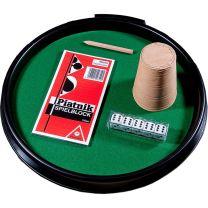 Piatnik Pokertasse mit Zubehör