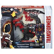 Hasbro Transformers Movie 5 Mega Turbo Changer Dragonstorm
