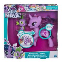 Hasbro My Little Pony Movie Twilight Sparkle & Spike