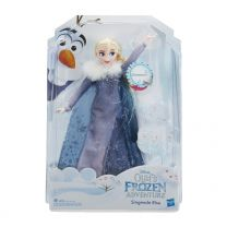 Hasbro Die Eiskönigin - Olaf taut auf Singende Elsa