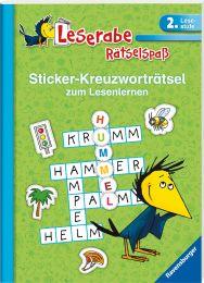 Ravensburger Sticker-Kreuzworträtsel zum Lesenlernen, grün