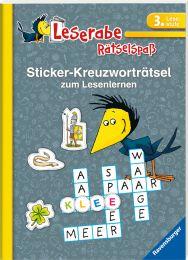 Ravensburger Sticker-Kreuzworträtsel zum Lesenlernen