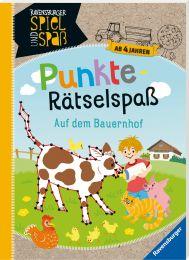 Ravensburger Punkte-Rätselspaß: Auf dem Bauernhof