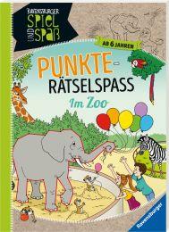 Ravensburger Punkte-Rätselspaß: Im Zoo