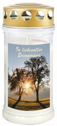 """Gedenk-Kerze """"In liebevoller Erinnerung"""""""