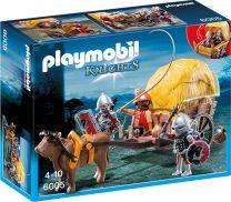 Playmobil Knights Tarnkutsche der Falkenritter