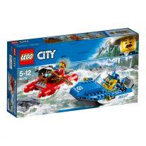 LEGO City Flucht durch die Stromschnellen