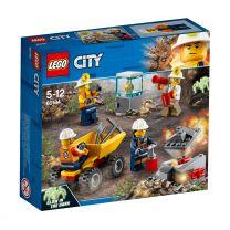 LEGO City Bergbauteam