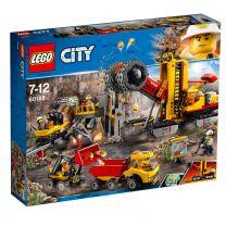 LEGO City Bergbauprofis an der Abbaustätte