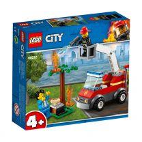 LEGO City Feuerwehr beim Grillfest