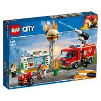 LEGO City Feuerwehreinsatz im Burger-Restaurant