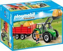 Playmobil Country Großer Traktor mit Anhänger