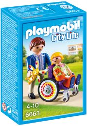 Playmobil City Life Kind im Rollstuhl