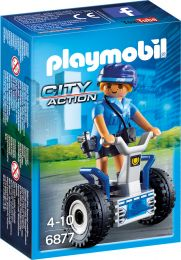 Playmobil City Action Polizistin mit Balance-Racer