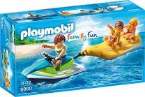 Playmobil Family Fun Jetski mit Bananenboot