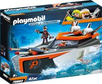 Playmobil Top Agents Spy Team Turboship