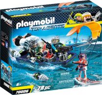 Playmobil Top Agents Team S.H.A.R.K. Harpoon Craft
