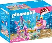 Playmobil Fairies StarterPack Seepferdchenkutsche