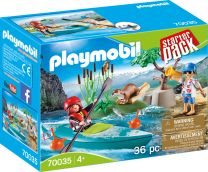 Playmobil Action StarterPack Kanu-Training
