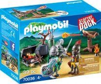 Playmobil Knights StarterPack Kampf um den Ritterschatz