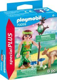 Playmobil Special Plus Elfe mit Reh