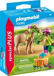Playmobil Special Plus Mädchen mit Pony